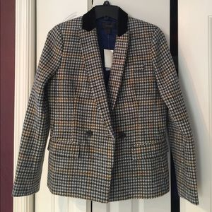 New J crew wool jacket us6